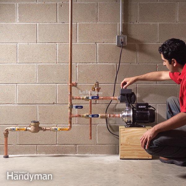 bomba de presión de agua