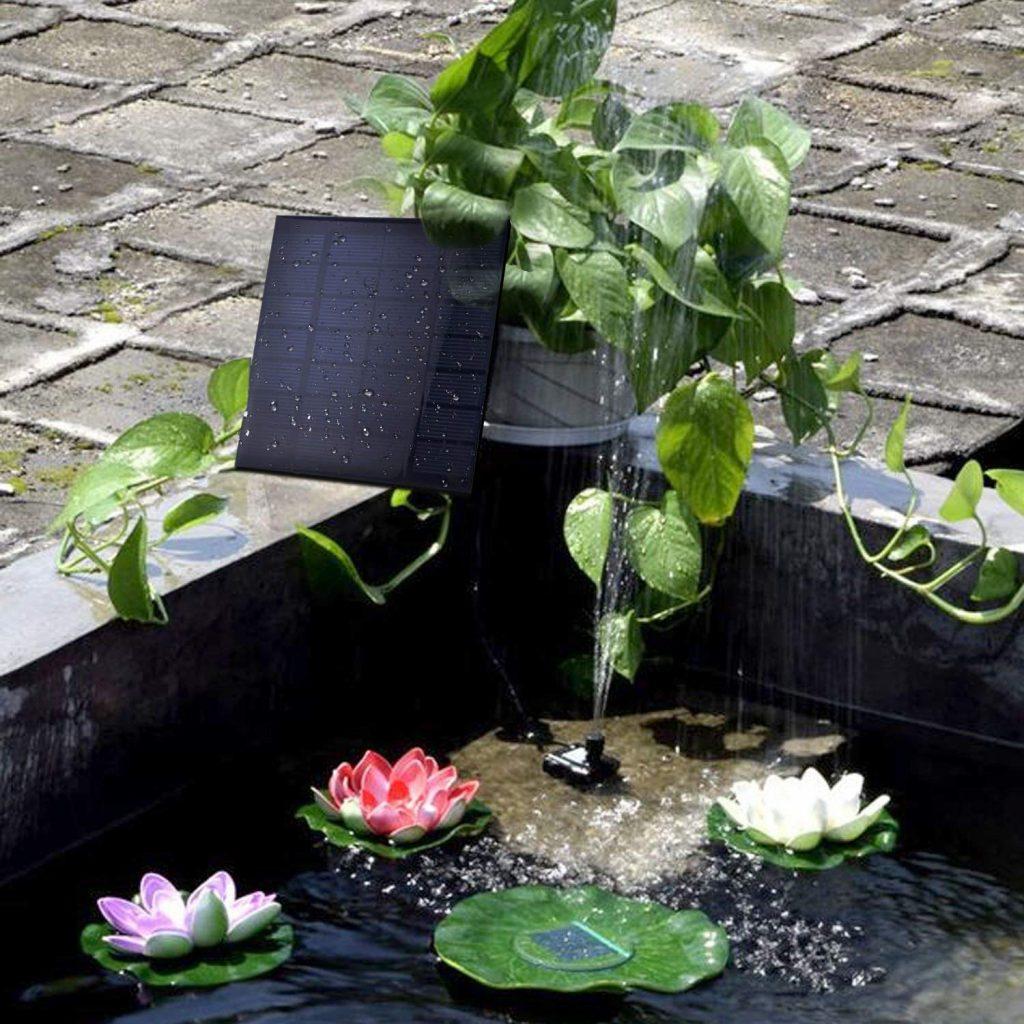 SunTop Bomba de Agua Solar Sumergible