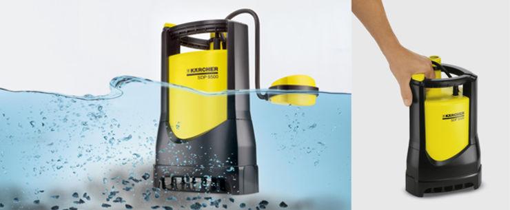 bombas de agua sucia